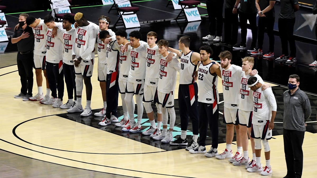 NCAA Men's Title Game Begins With Moment Of Silence Honoring Regular Season Games Lost To Covid-19