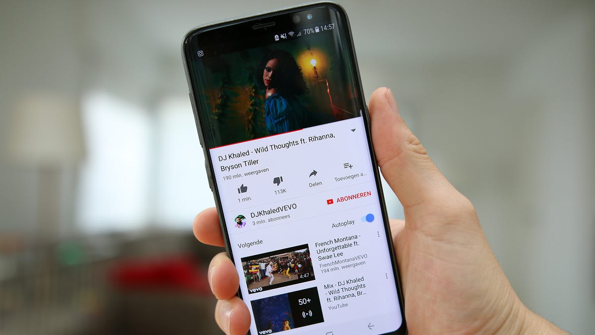 How to Use YouTube's New App Gestures