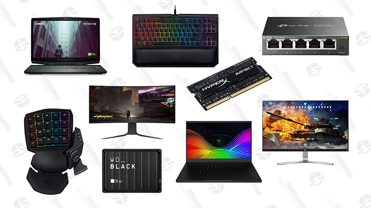 Upgrade Your PC With This Huge Cyber Monday Sale on PC Gaming Gear