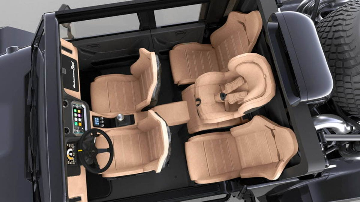 The Scuderia Glickenhaus Baja Boot Could Have Stadium Seating And A Throne
