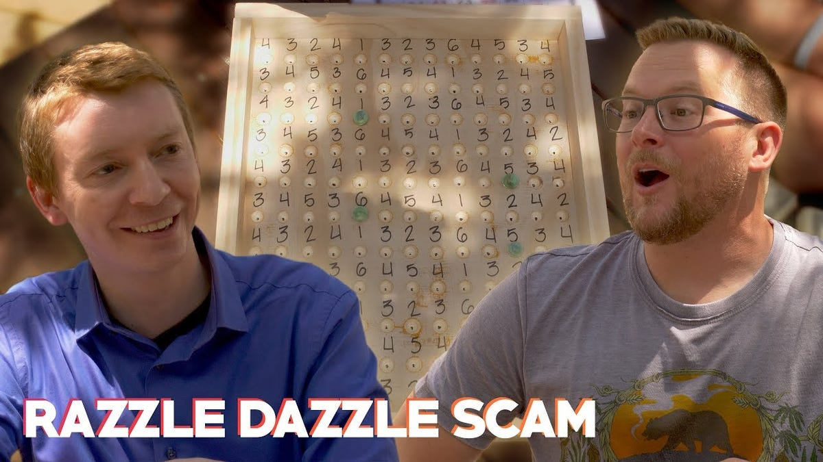 How the Razzle-Dazzle Game Takes All Your Money