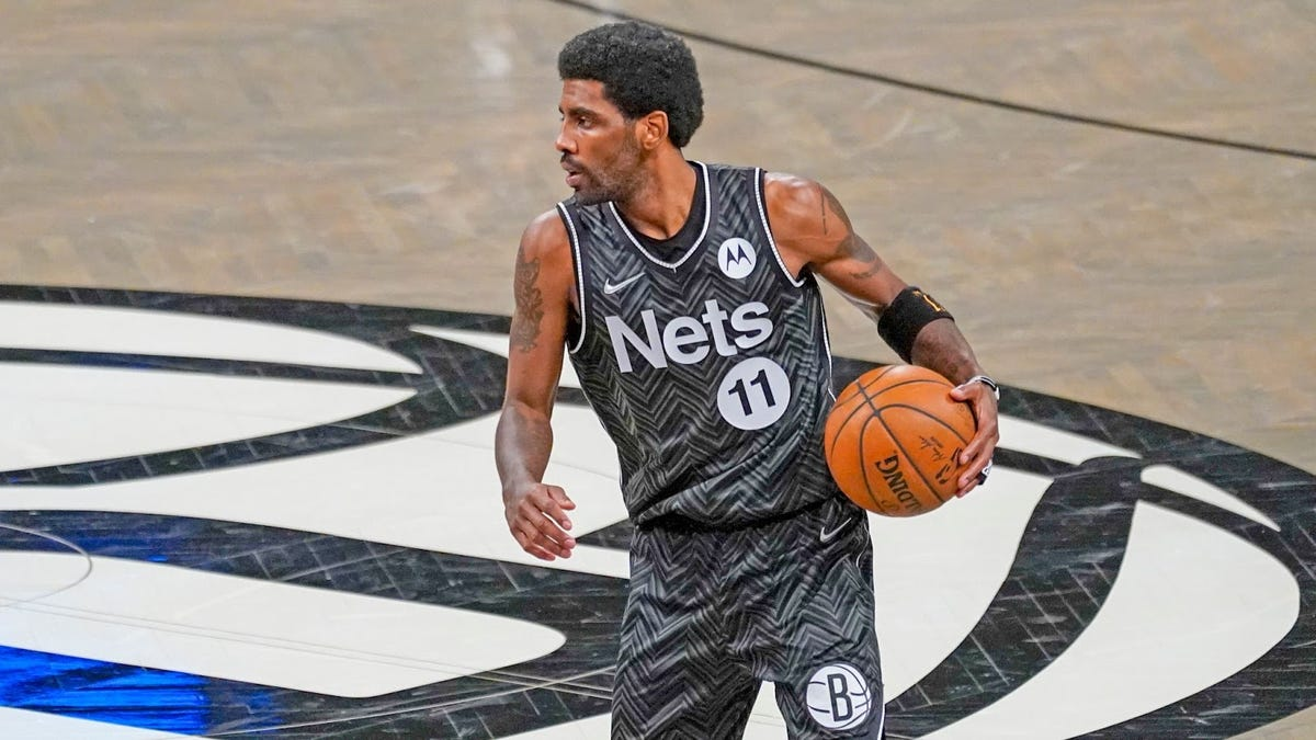 Kyrie Irving is present and accounted and the Brooklyn Nets' MVP this season