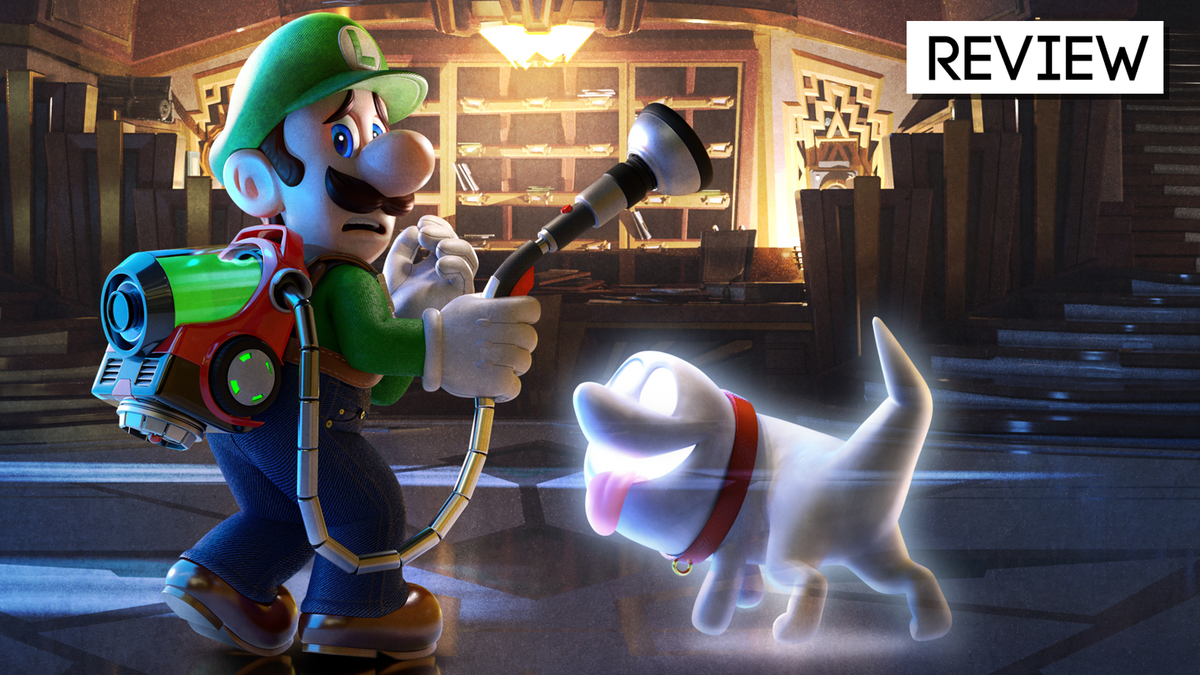 Luigi's Mansion 3 Is An Eerie Delight, From The Lobby To The Penthouse