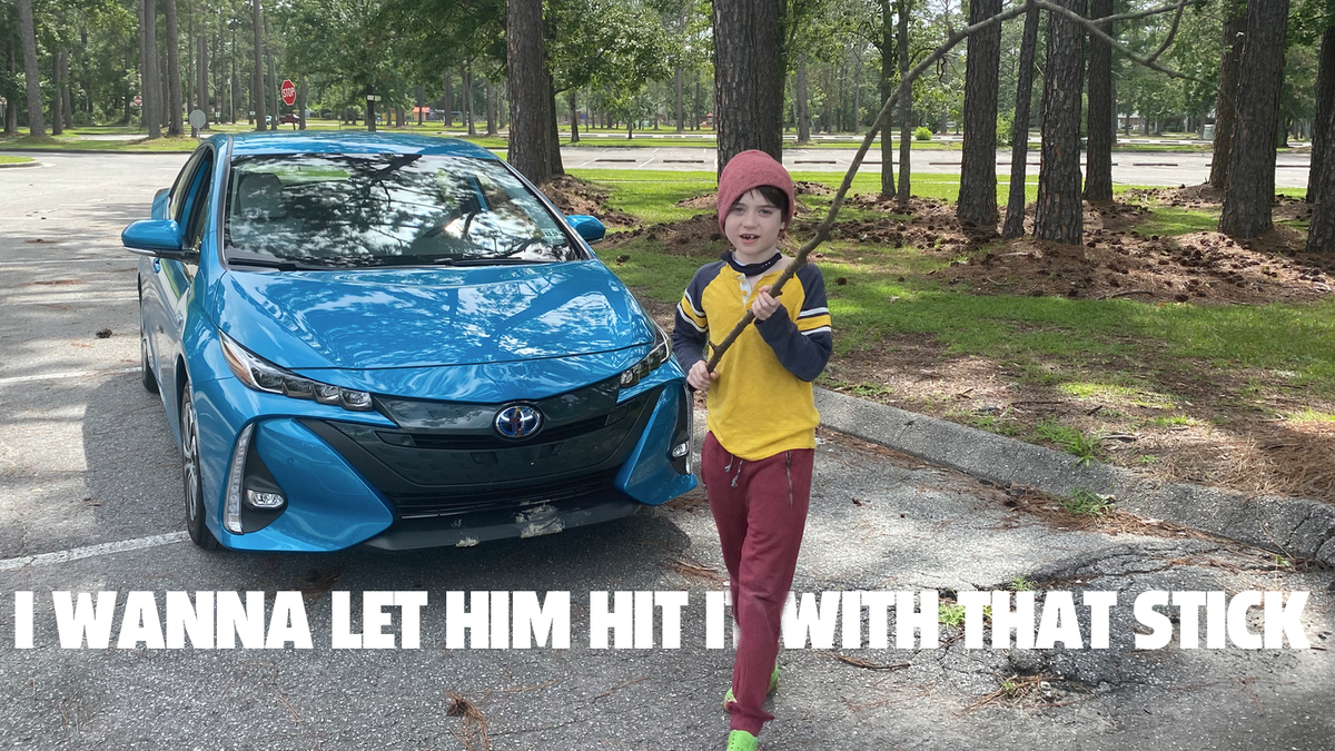 The 2021 Prius Prime Is The Driving Equivalent Of Some Kid Kicking Your Seat At The Movies