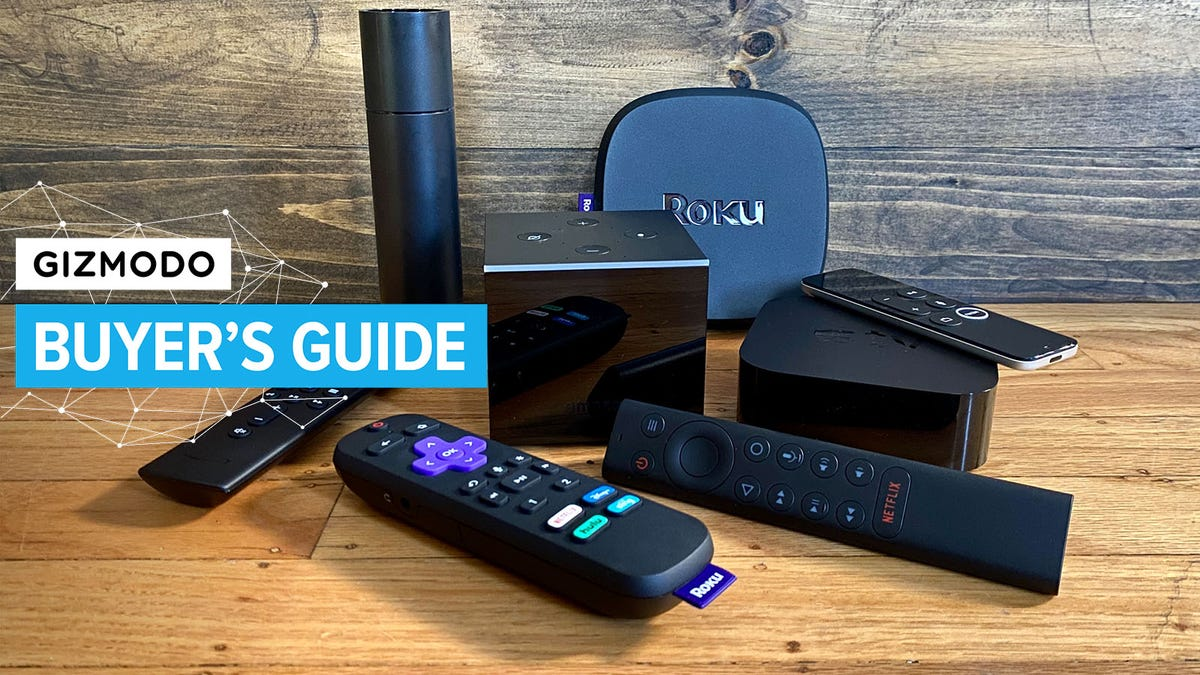 Gizmodo's Favorite Streaming Video Devices