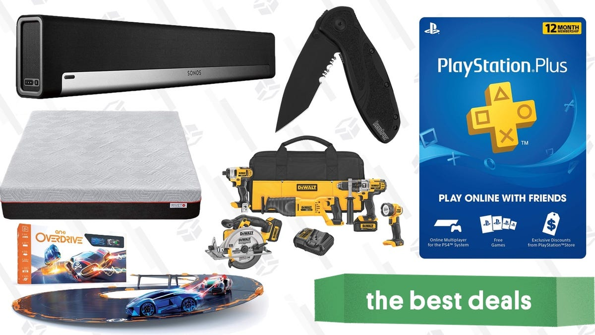 Saturday S Best Deals Playstation Plus Anki Toys Power Tools Sonos And More