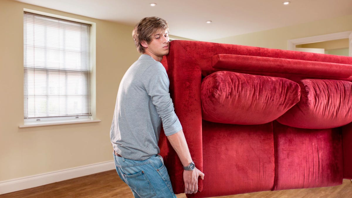 Man Scrambling To Furnish Apartment Before Date Shows Up