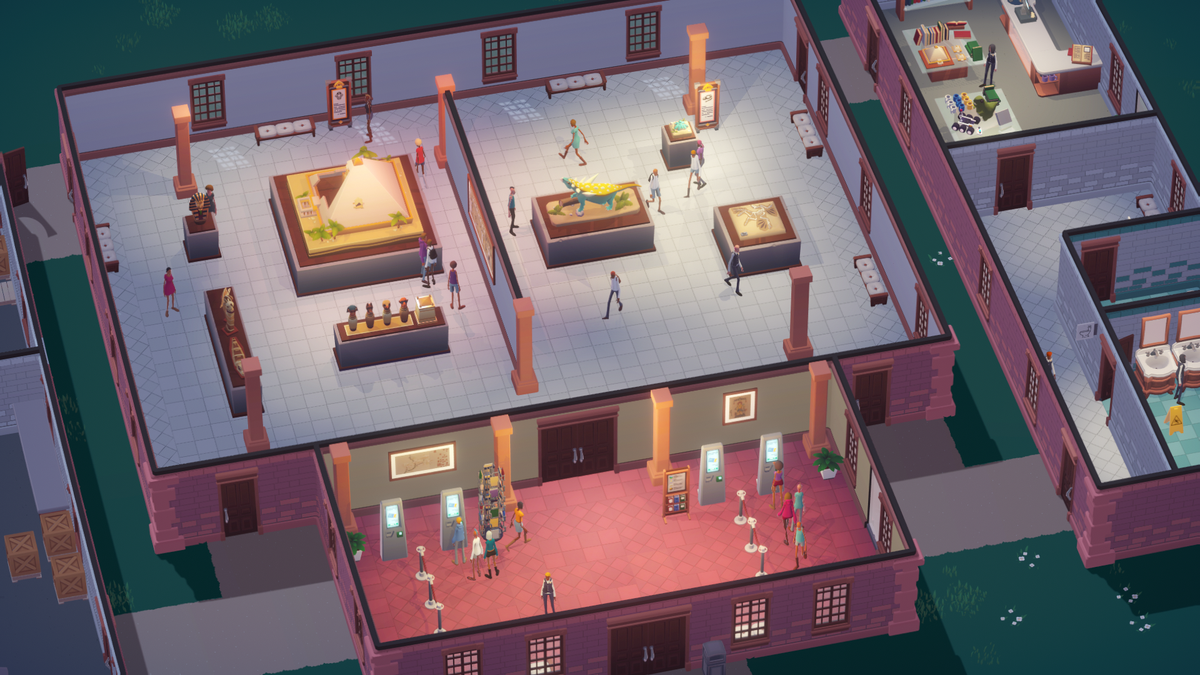 Upcoming Museum Sim Lets Players Combine Artifacts To Tell Cool Stories