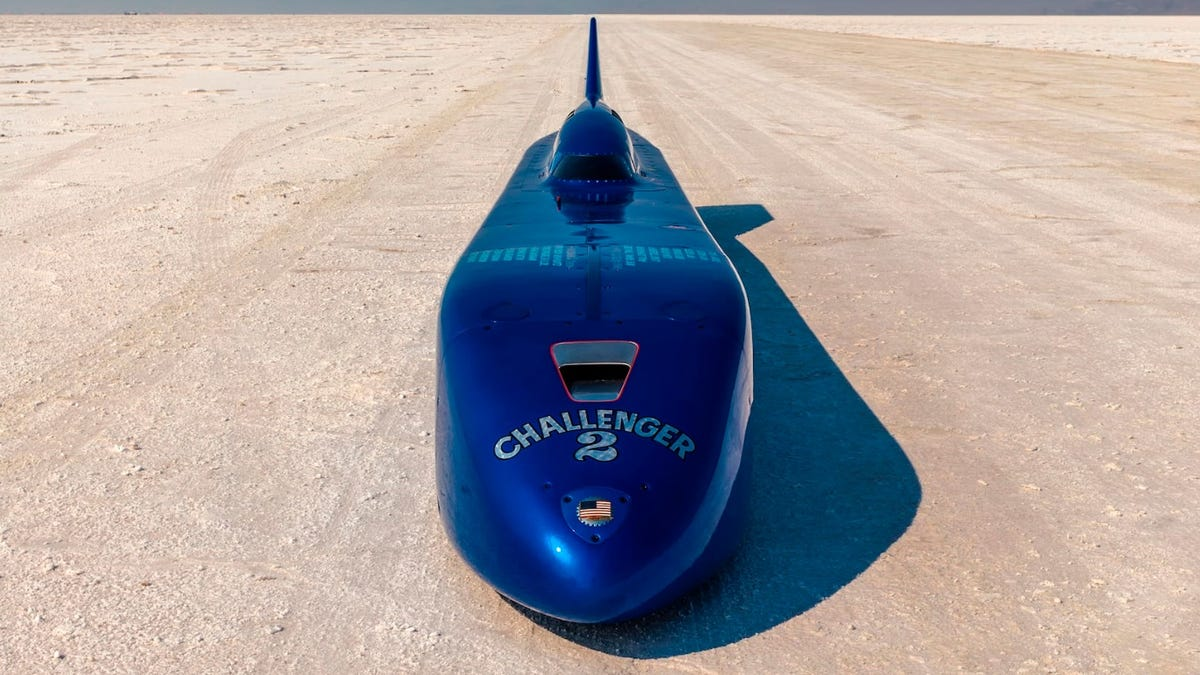 Danny Thompson Had To Sell Record-Setting Challenger II To Pay His Bills