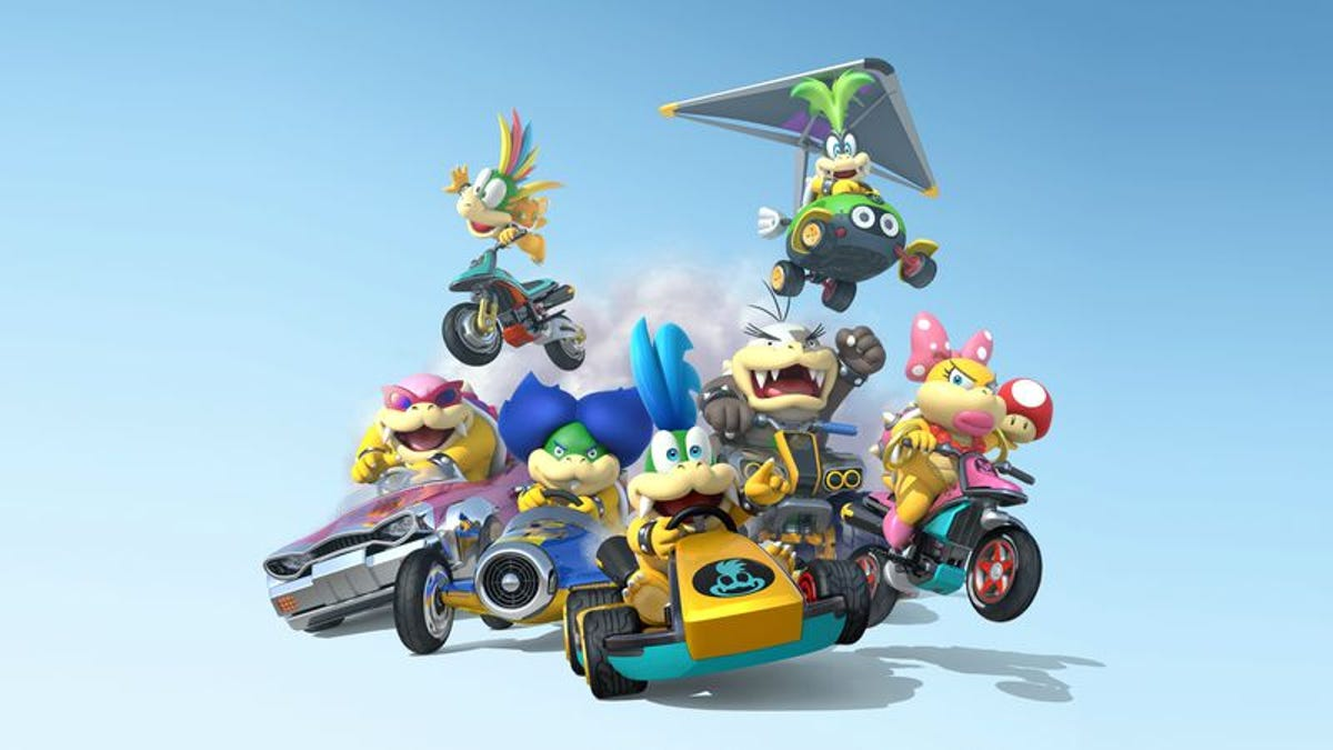 All 30 Mario Kart 8 characters, reviewed
