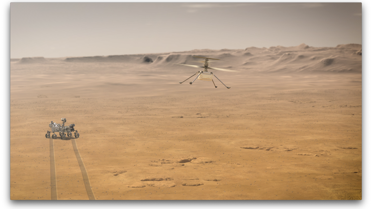 NASA Reveals Its Plan for First Helicopter Flight on Mars