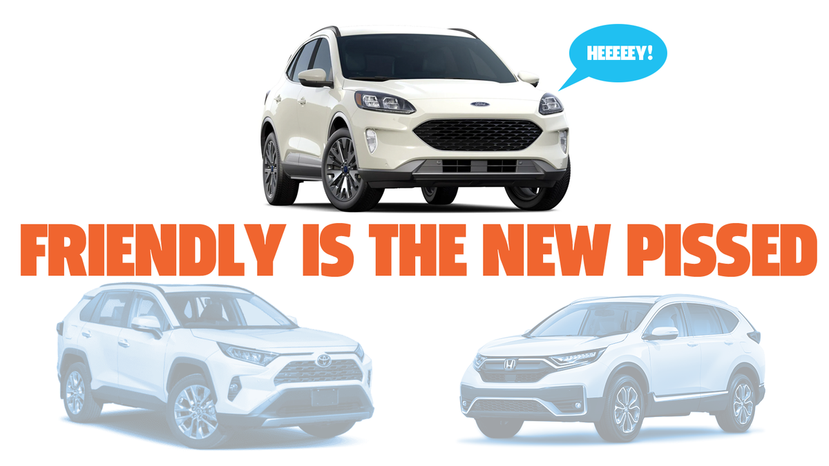 I Just Want To Commend Ford For Redesigning the 2020 Ford Escape To Actually Look Friendly