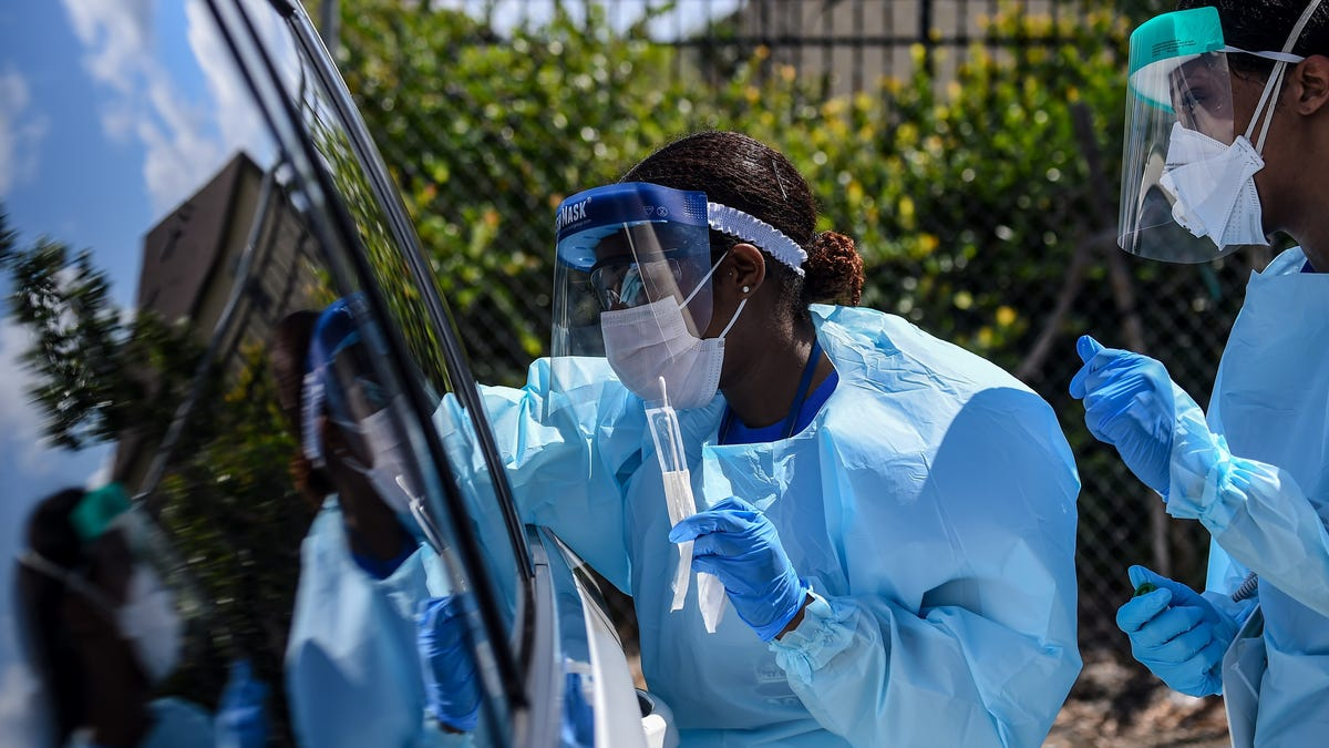 One-Third of All Coronavirus Tests Came Back Positive in Miami-Dade County on Thursday