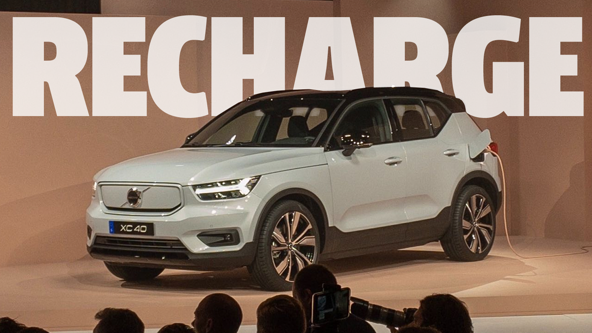 The Volvo XC40 Recharge Comes With A Year Of Free Electricity