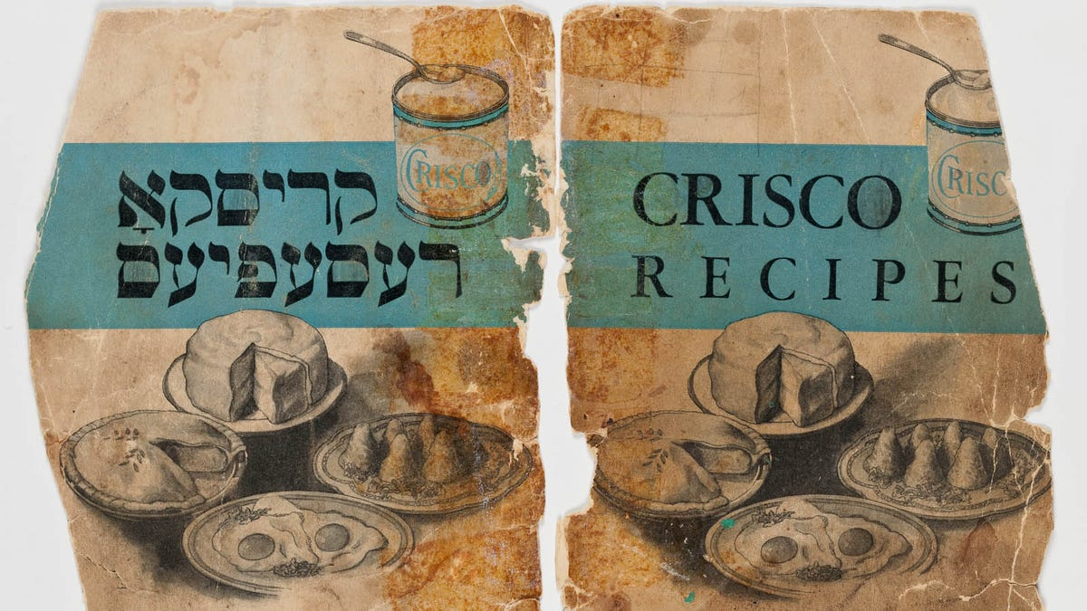 The Jews waited 4,000 years... for Crisco?