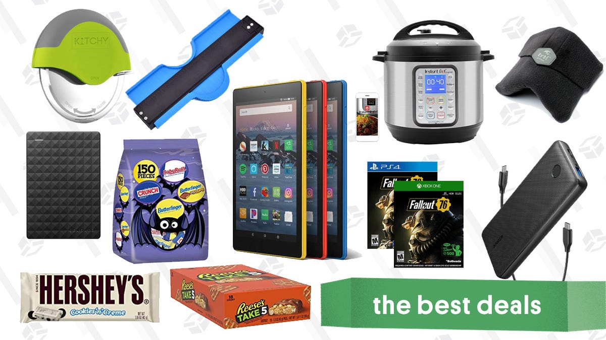 Monday's Best Deals: Instant Pot Smart, TRTL Travel Pillow, Halloween Candy, and More