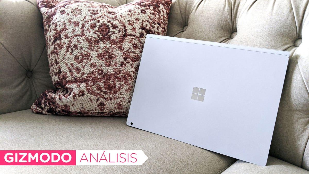 Probamos la Microsoft Surface Book 3: tan elevada en prestaciones como en precio