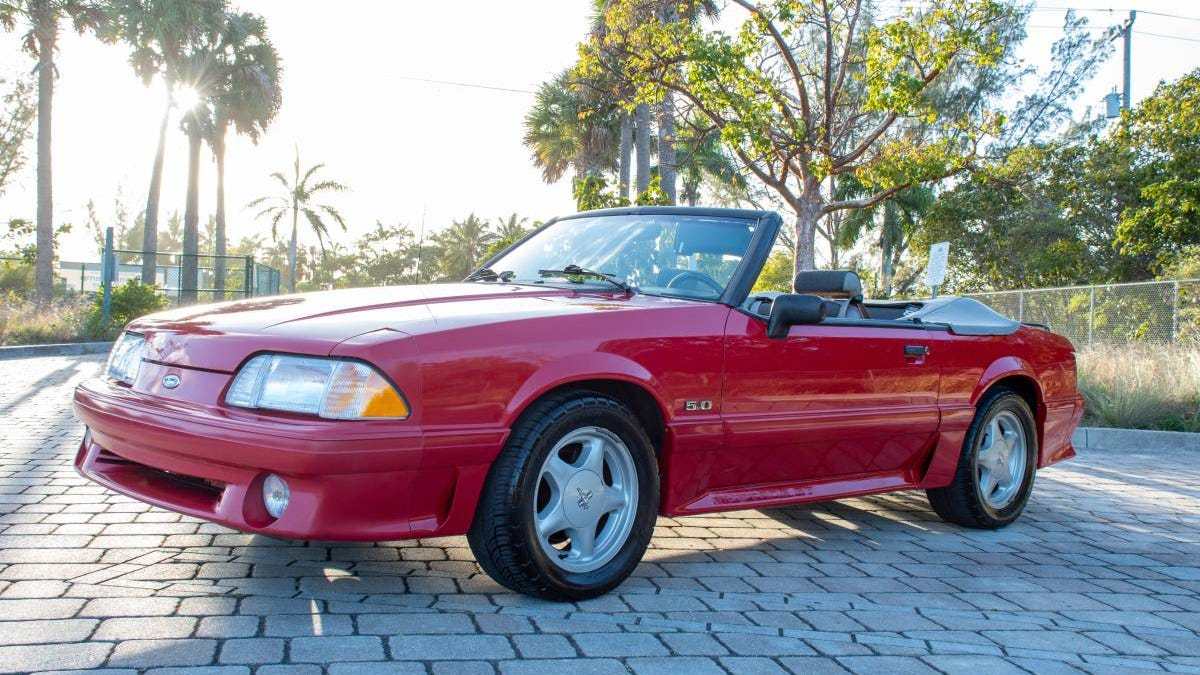 Would You Pony Up $15,000 For This 1992 Ford Mustang GT Convertible?
