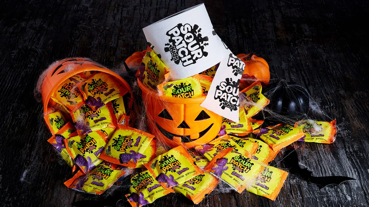 Sour Patch Kids saves Halloween by giving away toilet paper. We'll explain.