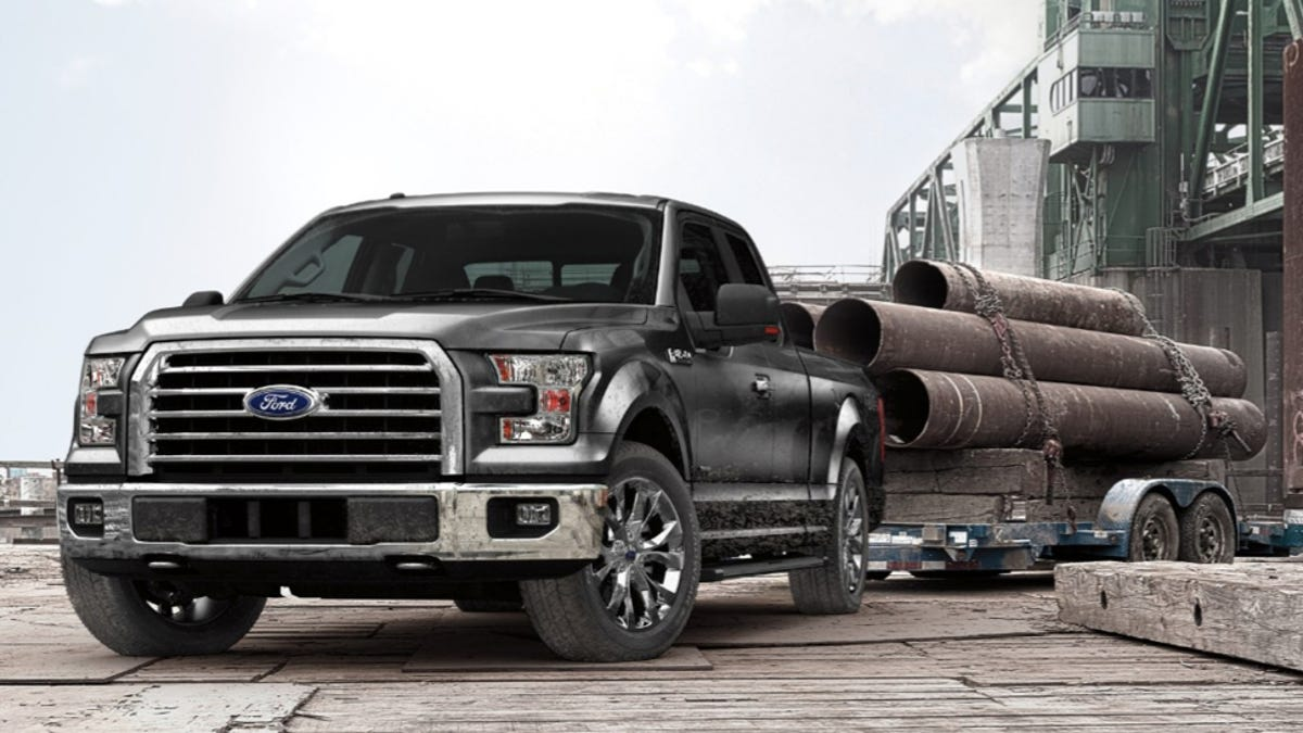 How Much Does A Ford F150 Weigh >> 2015 Ford F 150 Can Tow 12 200 Lbs Carry An Absurd 3 300