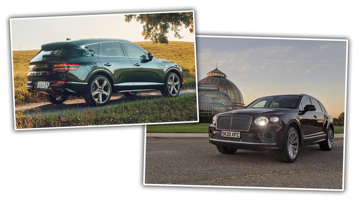Review: The Genesis GV80 Vs. Bentley Bentayga V8