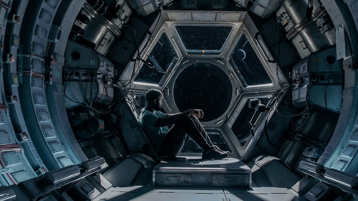 Four's a crowd in Netflix's involving deep-space survival saga Stowaway