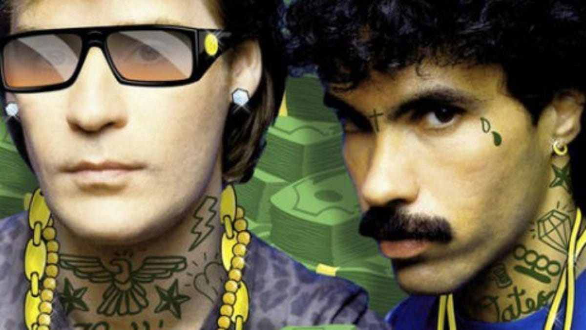 The Melker Projects' Ballin' Oates Hall & Oates mashup mixtape is today's immaculate gift from the Internet to your ears