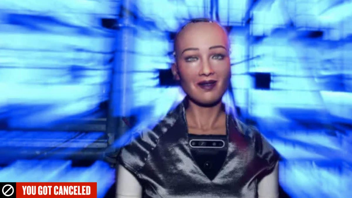 Cancel Sophia and Her Humanoid Robot Brethren