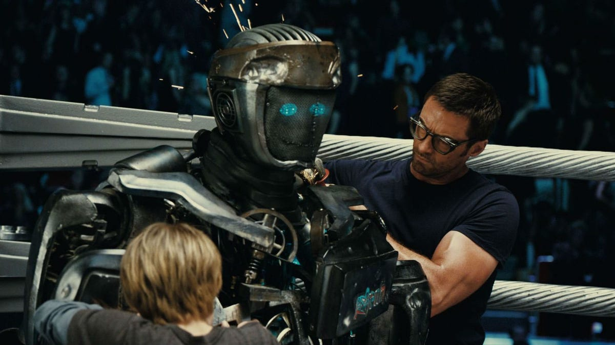 Something Kind of Cool and Creepy Was Cut from Real Steel