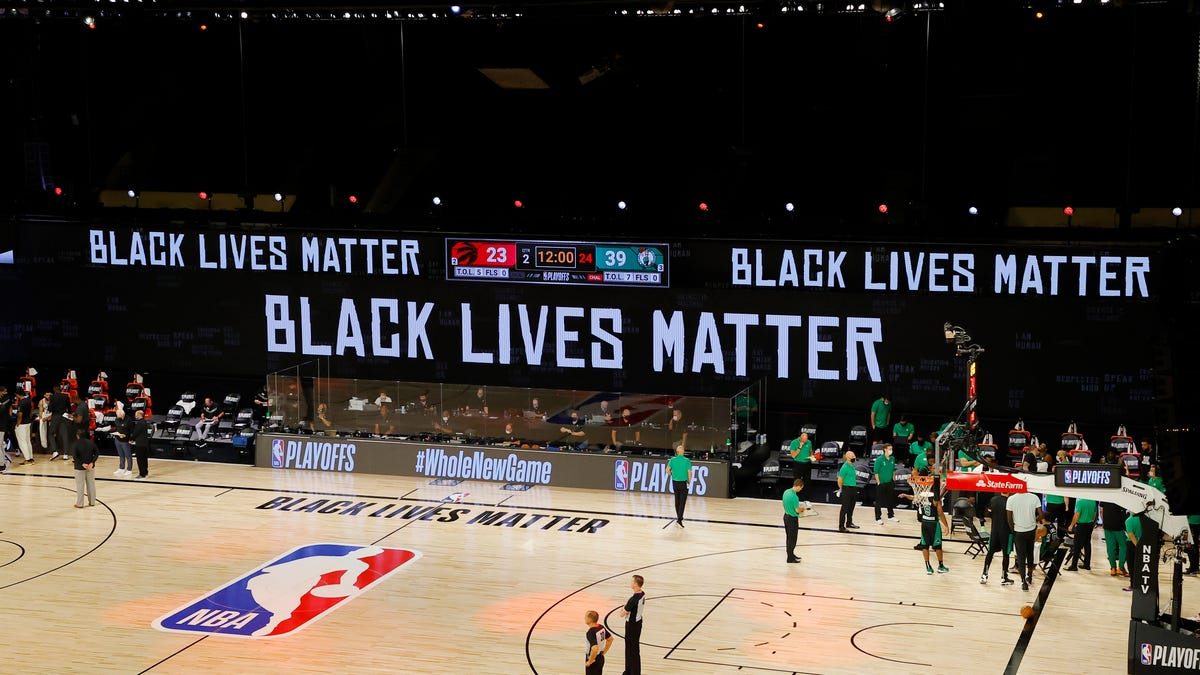 Anonymous NBA Agent Rips League for Allowing Black Lives Matter to 'Really Hurt the Business': 'Who Are You Helping?'