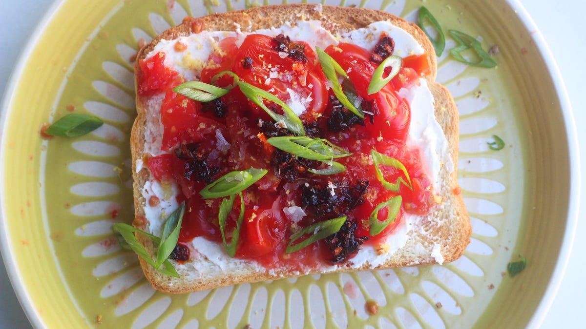 You Should Make Tiny Tomato Toast
