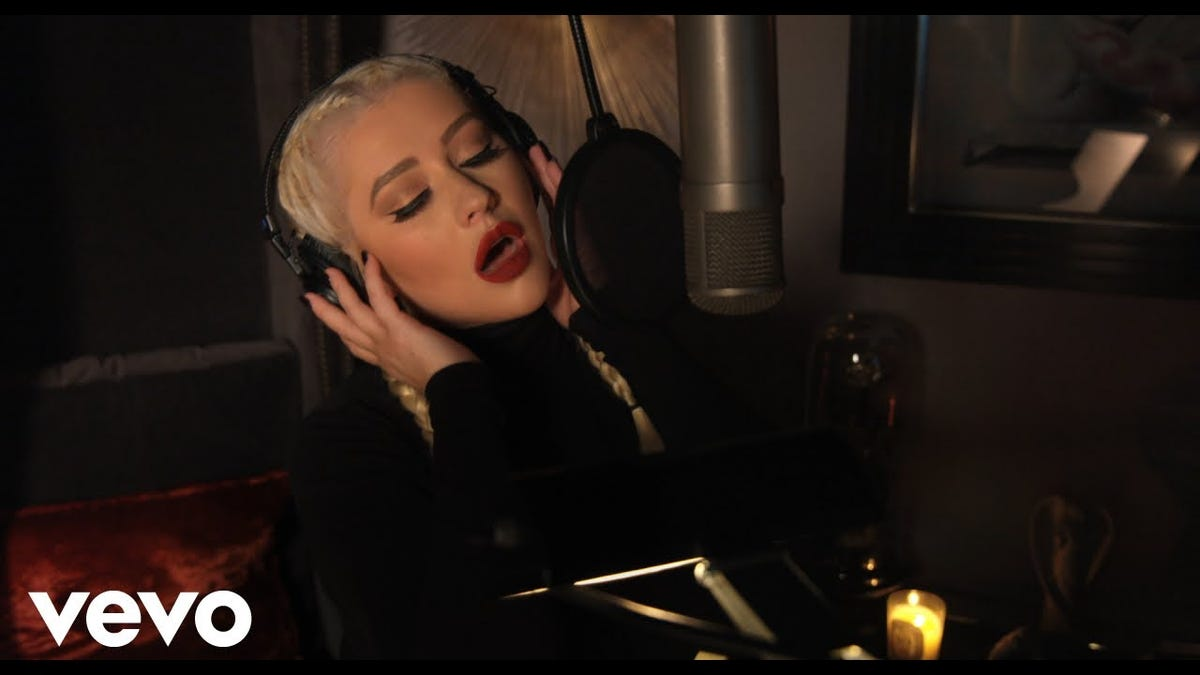 Christina Aguilera's 'Haunted Heart' Puts the Camp in Vamp