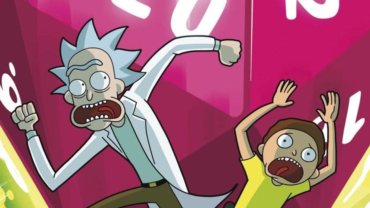 Dungeons & Dragons vs. Rick and Morty RPG Is Stupid, Irreverent Fun...Especially for DMs