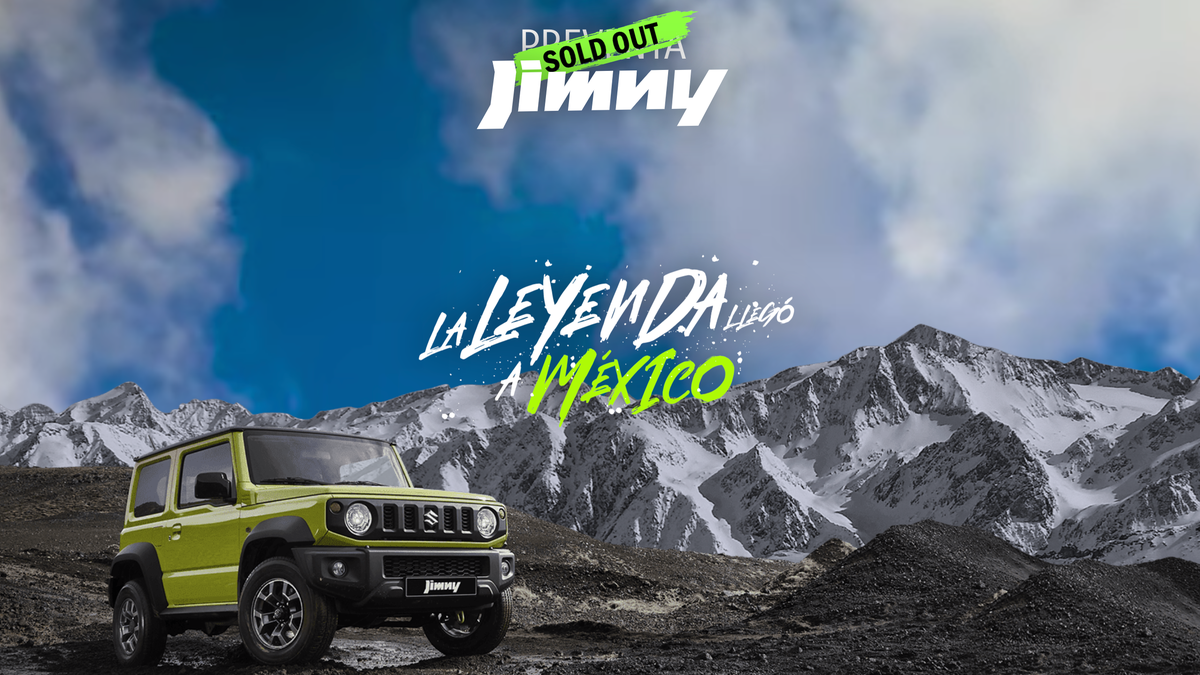 The Suzuki Jimny Sold Out In Mexico In Just 72 Hours