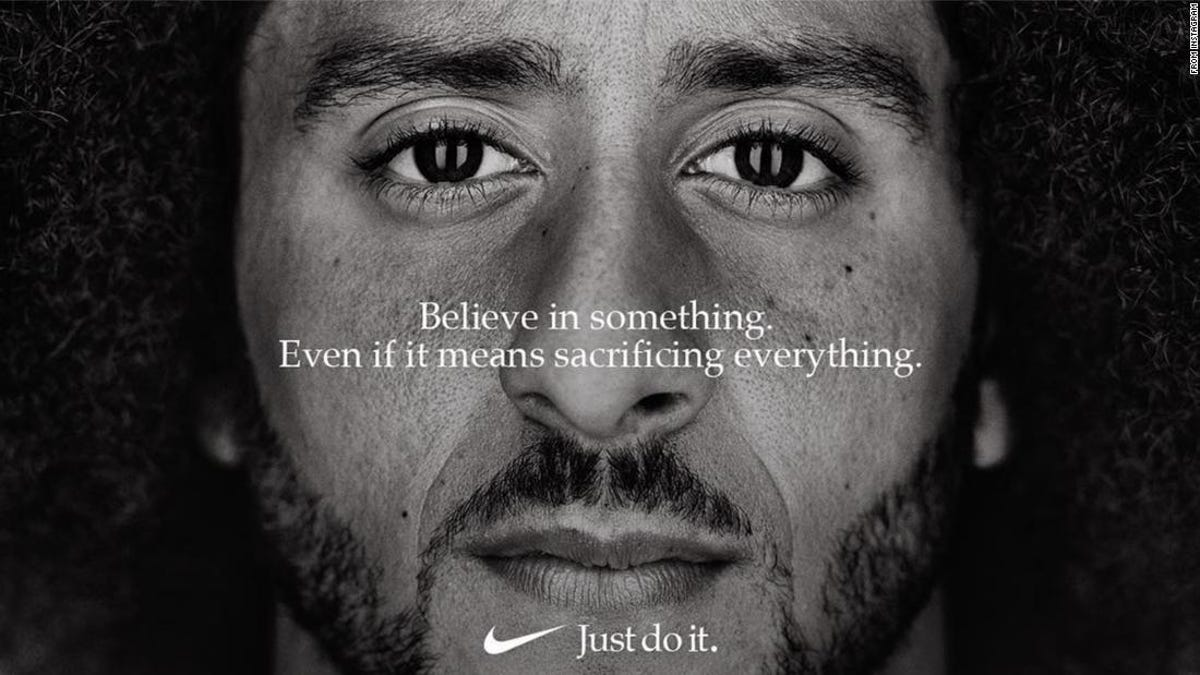 Colin Kapernick Nabs Emmy For Controversial Nike Ad