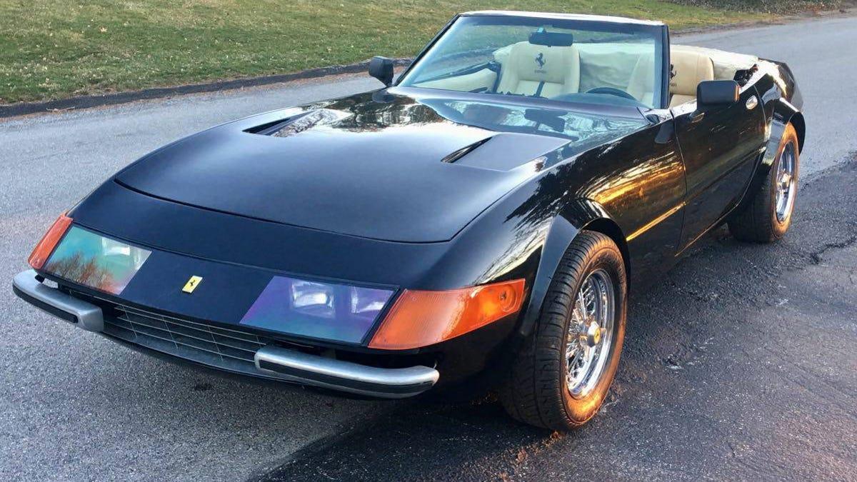 At 23 999 Could This 1976 Mcburnie Ferrari Daytona Let You Fake It Til You Make It