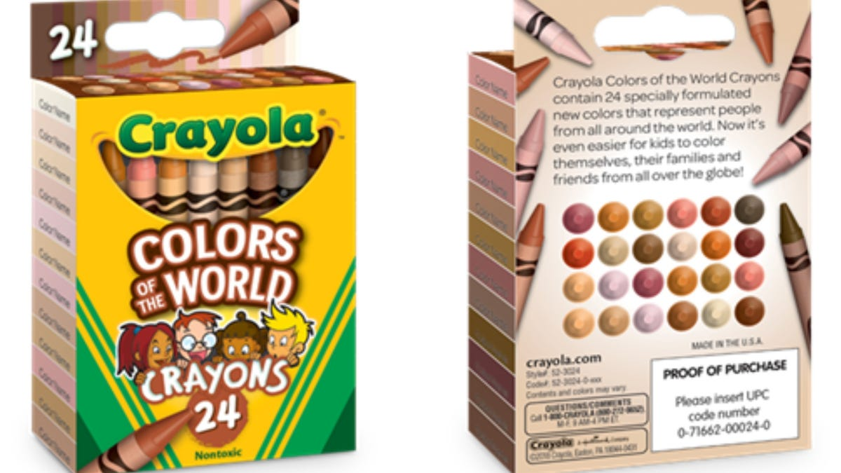 Color Correct: A 9-Year-Old's 'More Than Peach' Campaign Meets Its Match in Crayola's 'Colors of the World' - The Root