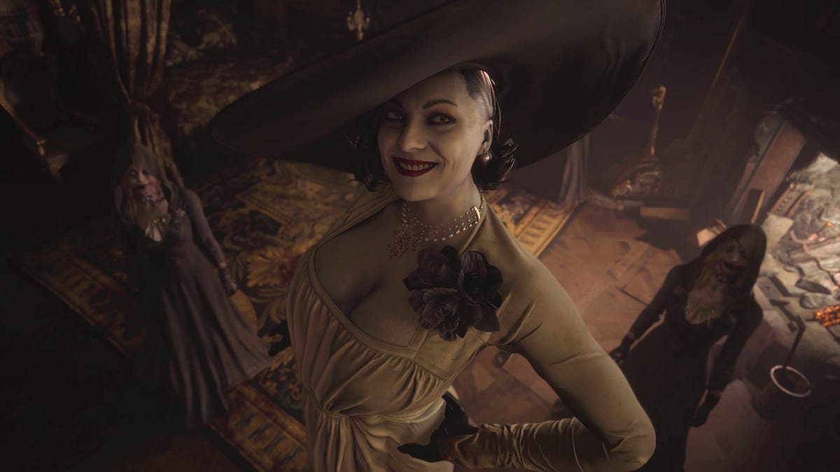 You Don't Want Resident Evil Village's Tall Vampire Lady ...