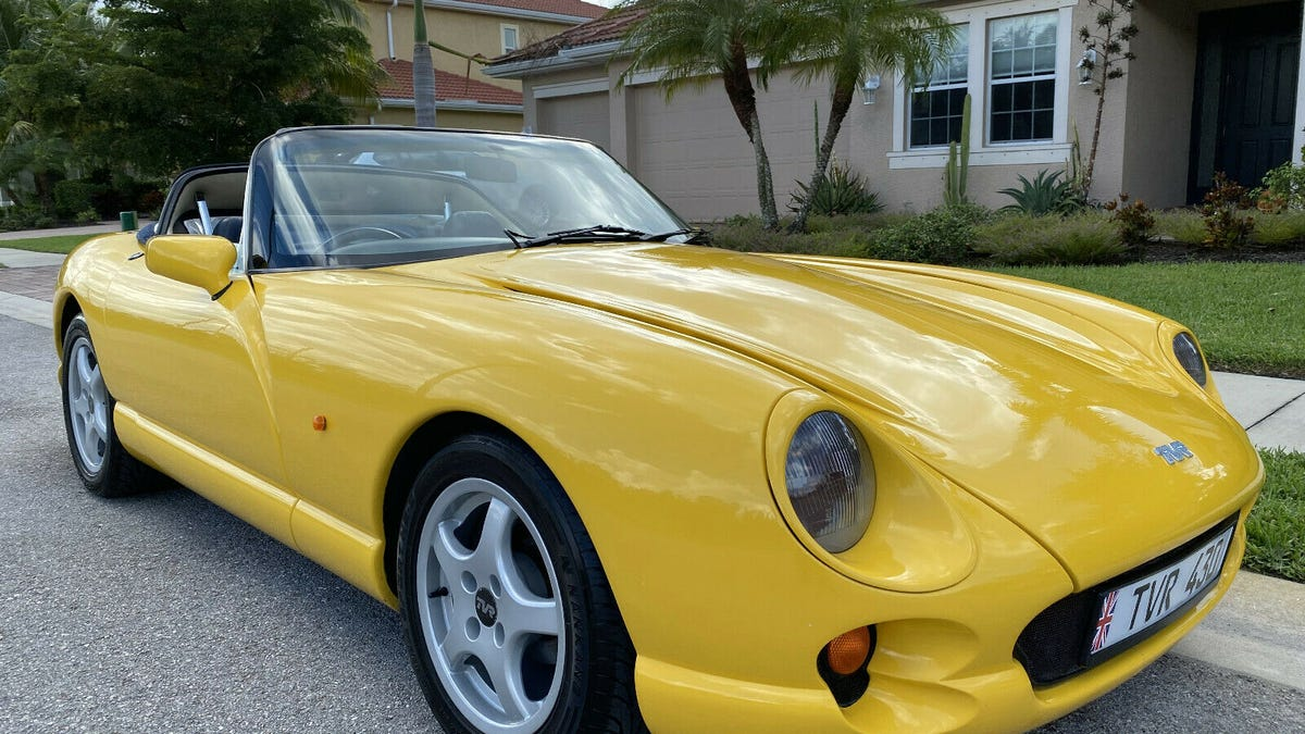 At $19,995, Could This 1994 TVR Chimaera 430 Be A Monster Of A Deal?