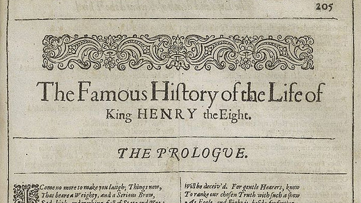 Una IA revela que Shakespeare solo escribió la mitad de la obra que destruyó el teatro más famoso de Londres