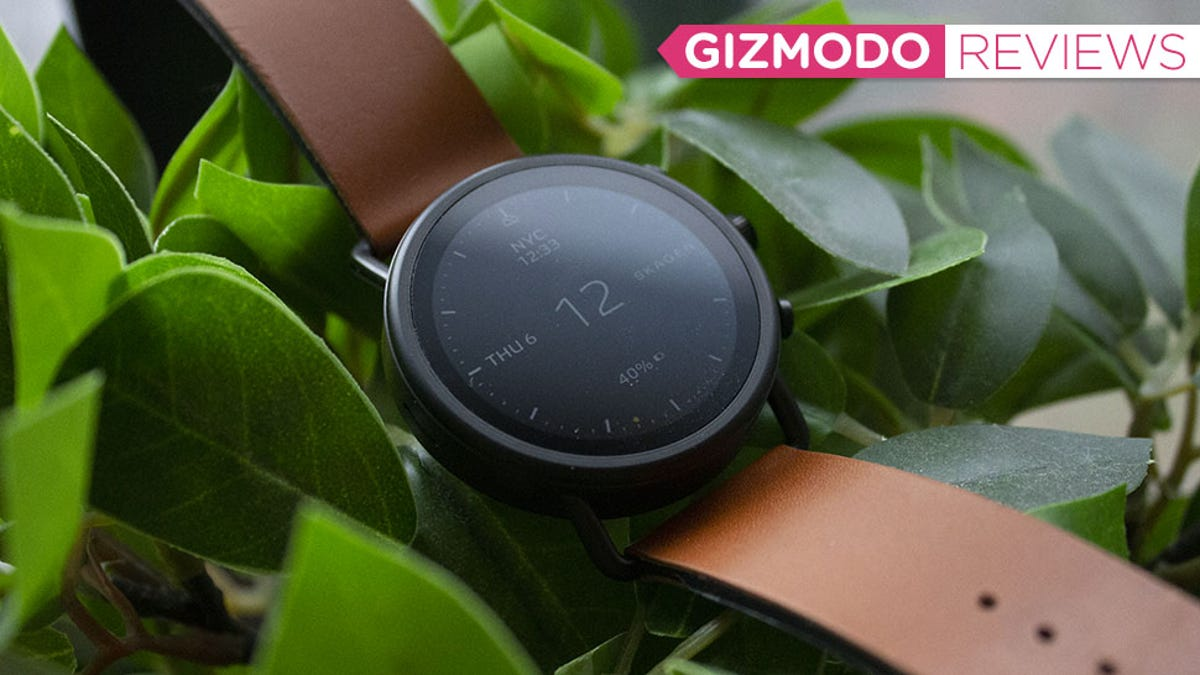 The Best Thing About This Smartwatch Is the Strap - Gizmodo