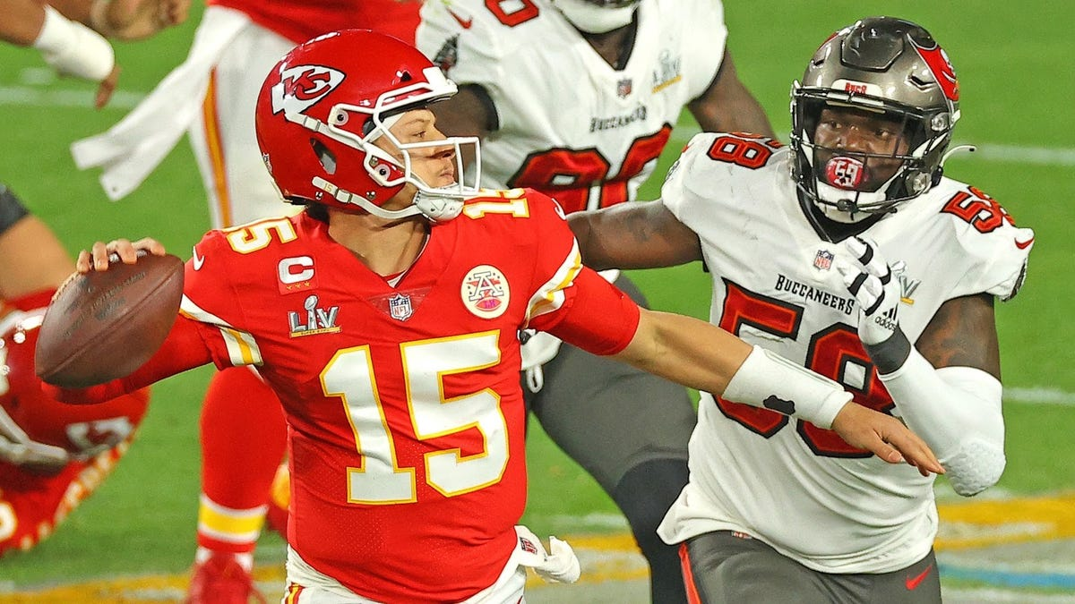 Don't be stupid, Patrick Mahomes is still coming for GOAT status