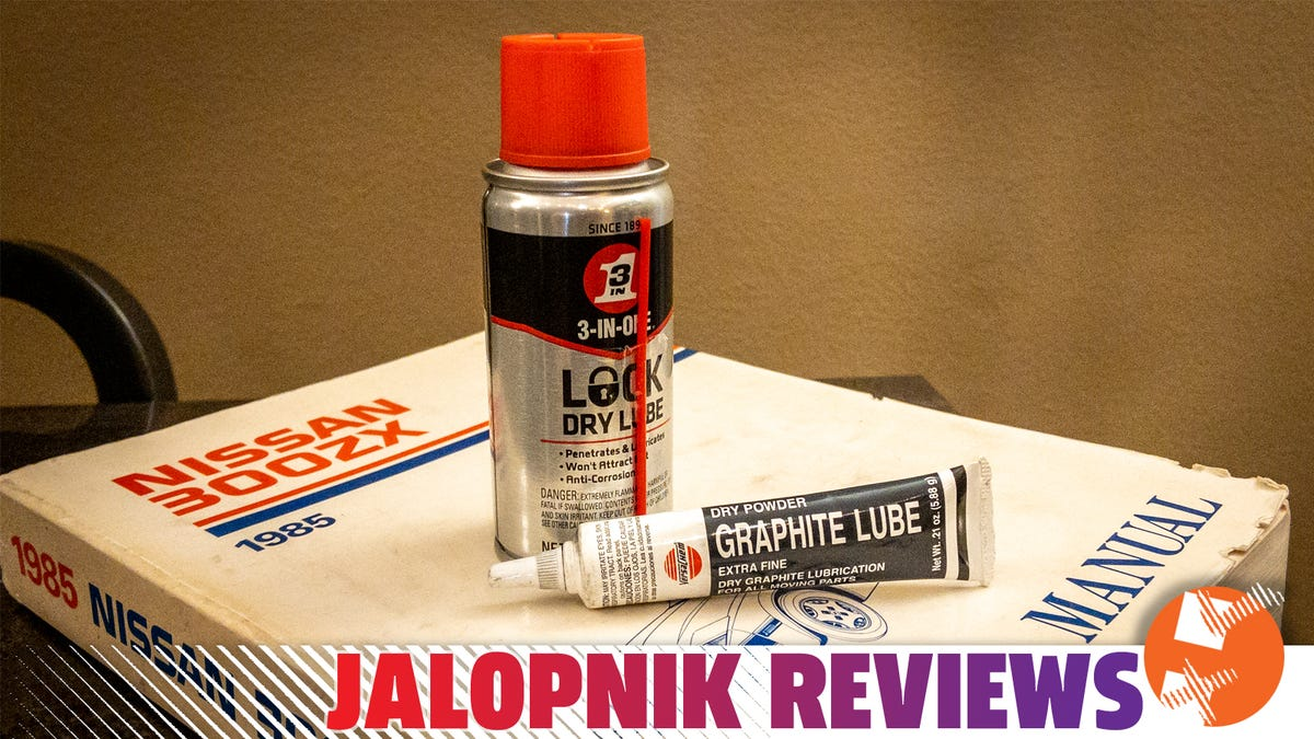 Make Your Old Car Feel Newer In 10 Seconds: Lube Your Locks With This Stuff