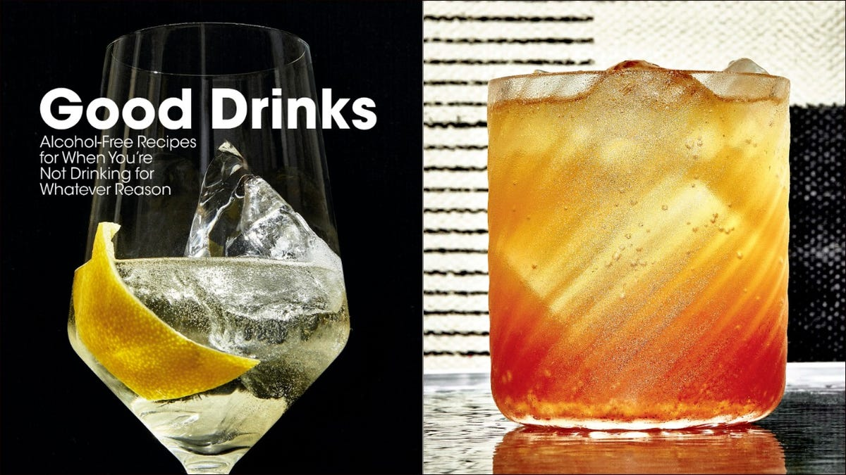 Good Drinks delivers what it promises with this alcohol-free Squash & Sorghum