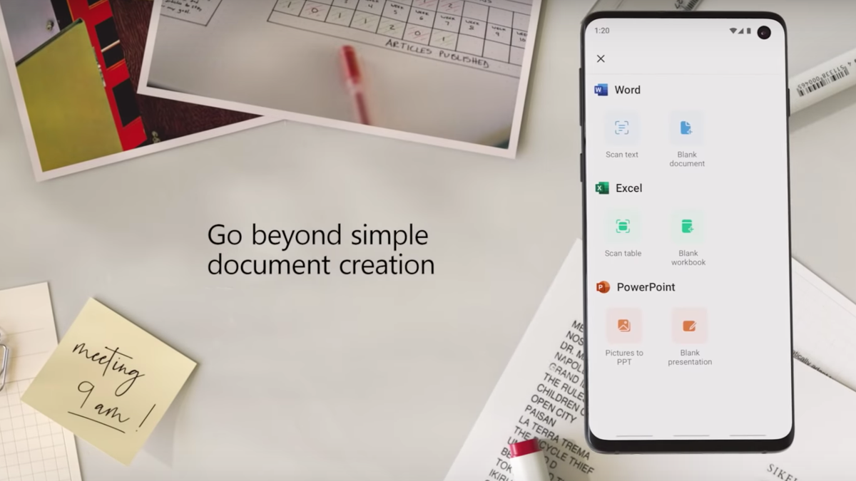 Microsoft Rolls Word, Excel, and Powerpoint Into One Unified App for Android
