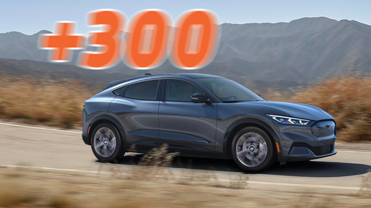 How The Ford Mustang Mach-E 300-Mile Range Compares To Tesla And More