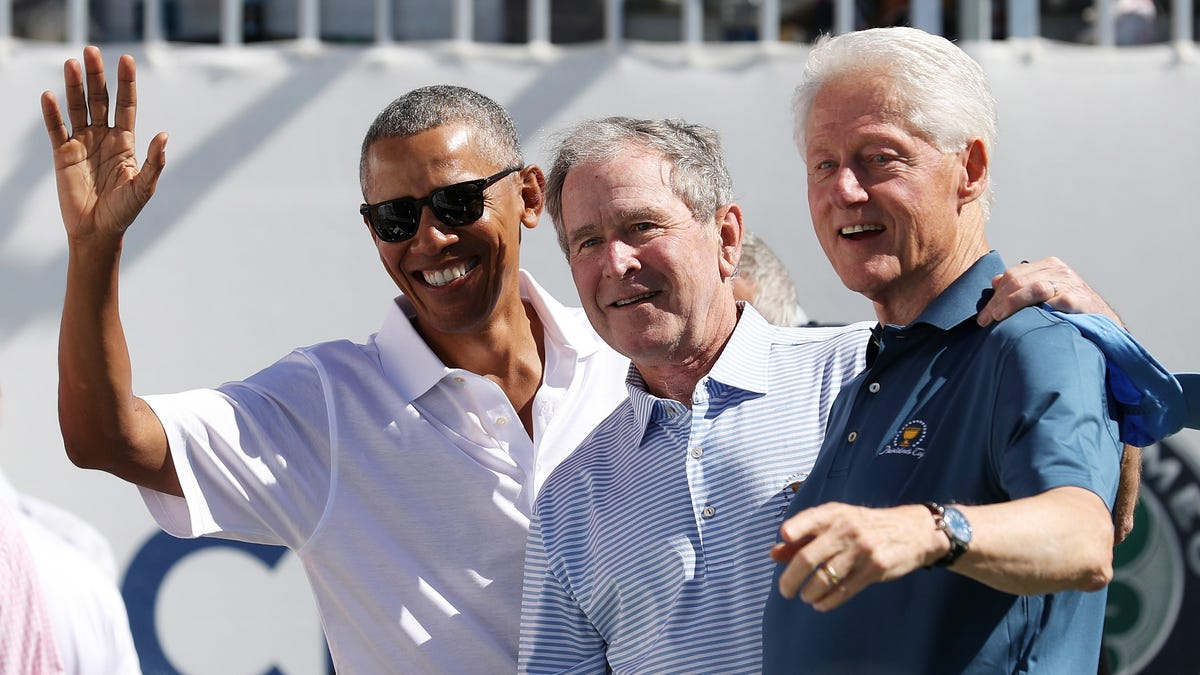 Obama, Bush, and Clinton say they'll get COVID-19 Vaccine