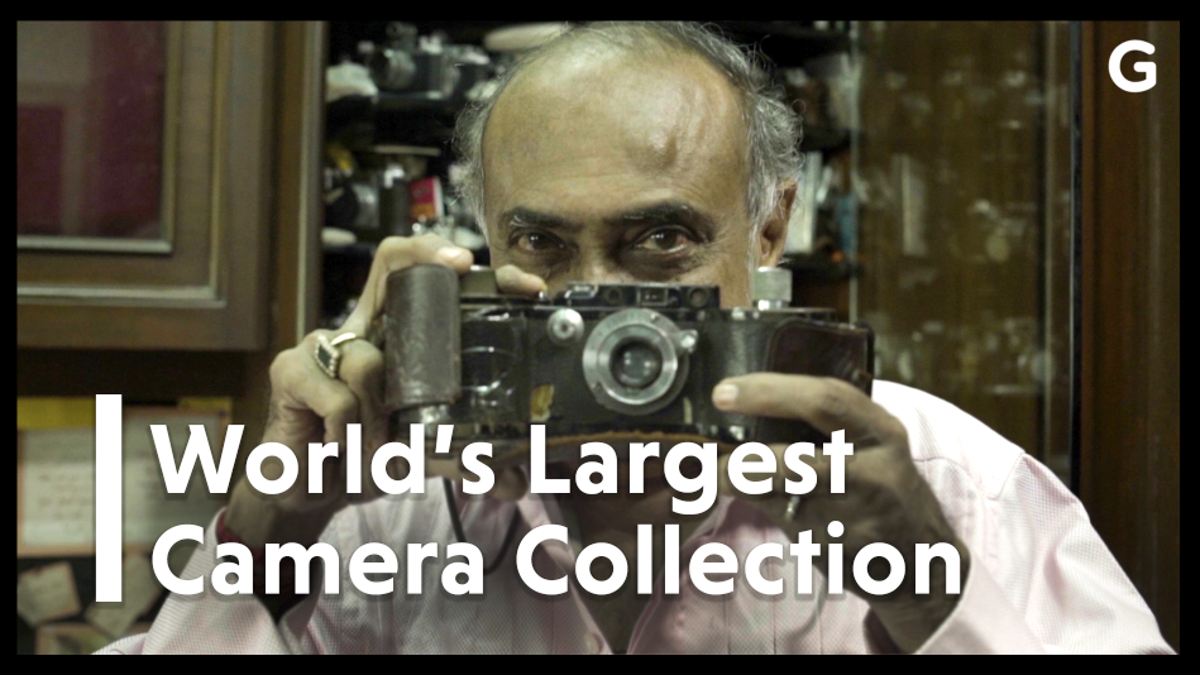 The World's Largest Camera Collection Belongs to a Government Worker in Mumbai