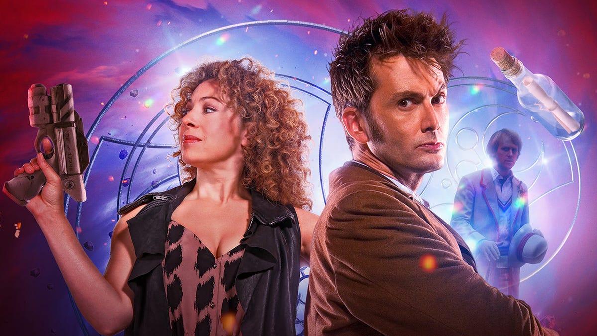 David Tennant e Alex Kingston se reúnem para Doctor Who Drama 12