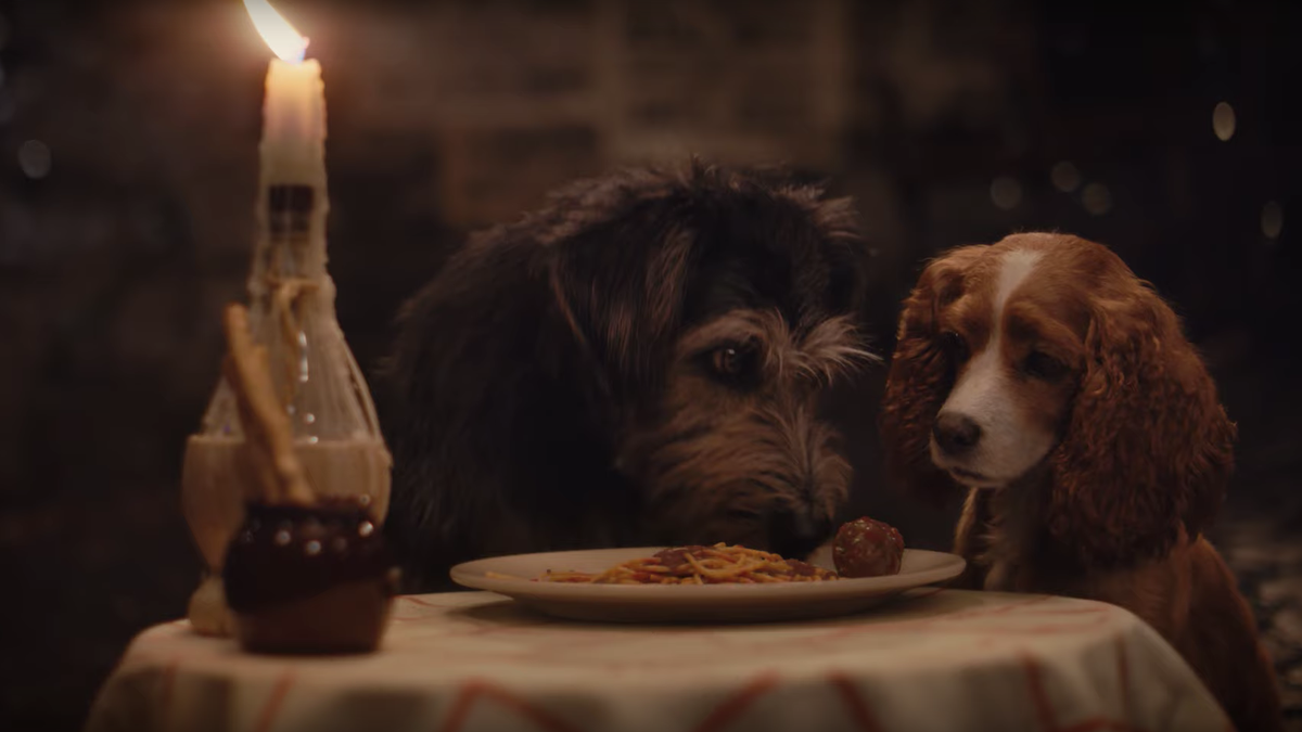 Save your Disney+ money: This Lady And The Tramp trailer has the spaghetti scene
